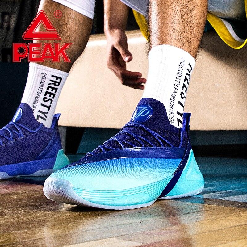 PEAK TAICHI Technology Professional Basketball Shoes TONY PARKER 7 Basketball Sneakers Men Cushioning Rebound Sports Shoes