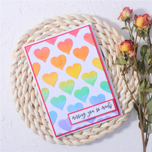 Eastshape heart shape background Metal Cutting Dies for Card Making Scrapbooking Embossing Cuts Stencil Craft New 2020