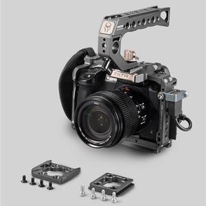 Image 3 - تيلتا TA T37 A G هيكل قفصي الشكل للكاميرا لباناسونيك لوميكس GH5 GH5S DSLR تلاعب عدة كامل قفص مقبض علوي