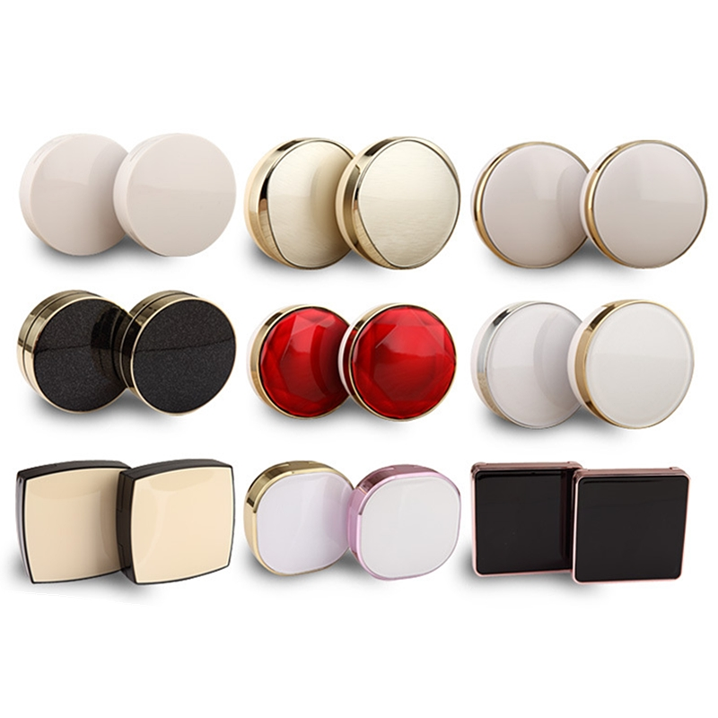 Air-Cushion-Case Powder-Puff Cosmetic-Jar-Set Refill Empty-Cosmetic-Containers Bb-Cream