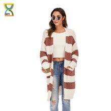 Женский элегантный свободный свитер cgyy повседневное пальто