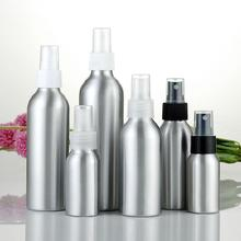 100ml/50ml Mini Aluminum Cosmetic Emulsion Perfume Atomizer Empty Spray Bottle Refillable Bottle Travel Outdoor Portable Tools 30ml 50ml 100ml 150ml portable travel black aluminum empty bottle perfume spray bottle cosmetic packaging container