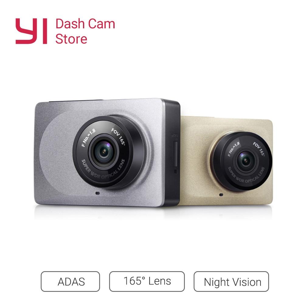 YI Smart Dash Camera Video Recorder WiFi Full HD Car DVR Cam Night Vision 1080P 2.7 165 Degree 60fps Camera For Car Recording