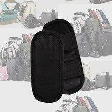 1 пара мягких нескользящих наплечных подушечек застежка-крючок рюкзак Чехлы для подушек разборка мягкий рюкзак ремни аксессуары