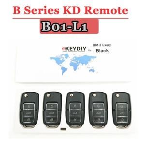 Image 1 - Free shipping (5 pcs/lot)KD900 remote key B01 Luxury  3 Button B series Remote control for URG200/KD900/KD900+ machine