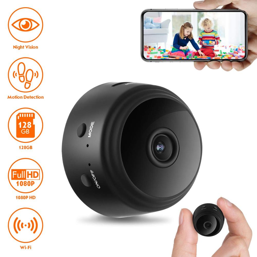 Mini IP Camera 1080P Sensor Night Vision Camcorder Motion DVR Micro Camera Sport DV Video small Camera Remote Monitor Phone App(China)
