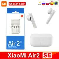 Xiaomi-auriculares Air2 SE con Bluetooth 5, auriculares inalámbricos originales con tecnología TWS, auriculares AirDots Pro 2SE Mi auténticos con Control táctil y larga duración de reposo