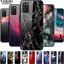 Pour Samsung A31 A41 A71 Étui En Verre Trempé Dur Couverture de Téléphone Pour Samsung Galaxy A51 Cas 51 Protection Mode Funda coque