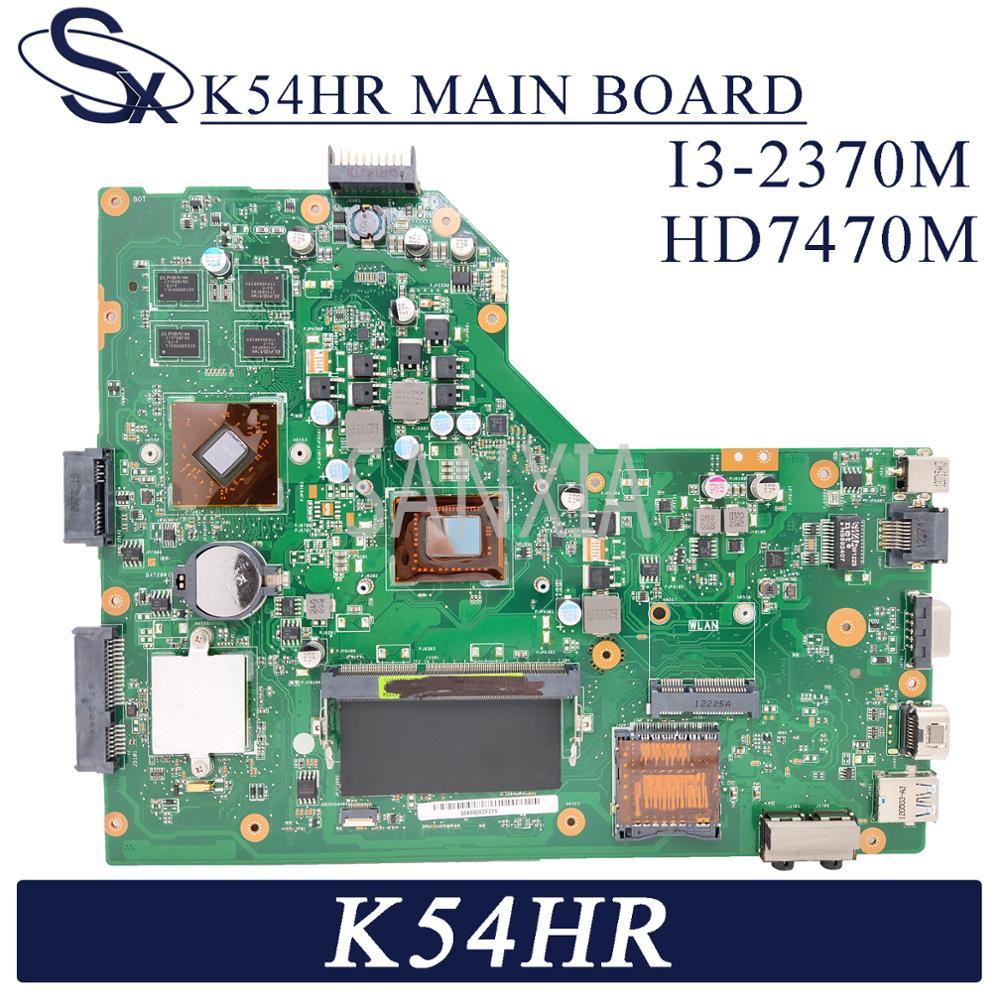 KEFU K54HR материнская плата для ноутбука ASUS K54HR X54HR X54HY K54LY оригинальная материнская плата I3-2370M HD7470M