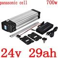 24V 500W 700W батарея 24V 30AH батарея для электрического велосипеда 24V 11.6AH 14.5AH 17AH 20AH 23AH 26AH литиевая батарея для panasonic cell
