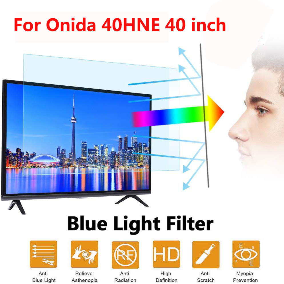 For Onida 40HNE 40 inch New Arrival Blue Light Screen Anti-Glare Anti-microbial Protective film for tv