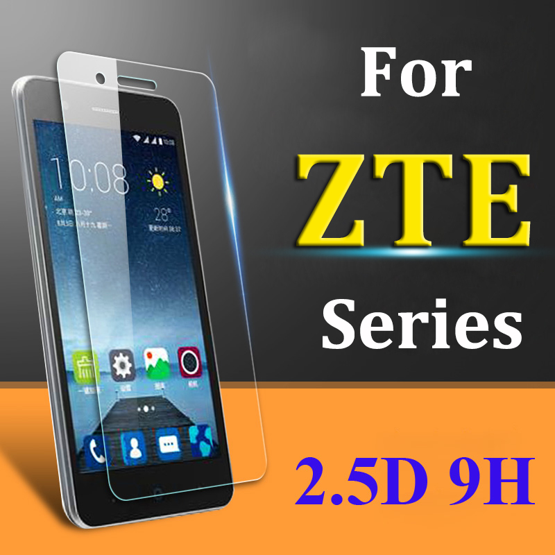 Protective Glass For Zte Blade V7 Lite Glass On For Zte Blade A610 A520 A512 V8 A601 A510 X3 L5 Glas Temper Screen Film Protect