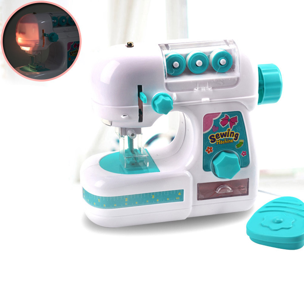 Kids Sewing Machine Toys Electric Sewing Machine Toys for Children ...