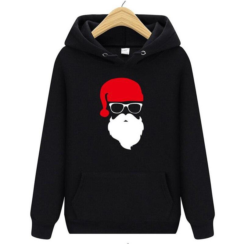 Christmas Santa Claus Gift New Year Gift Quality Street Clothing Hip Hop Hoodie Men's Sweatshirt Men And Women Hoodie