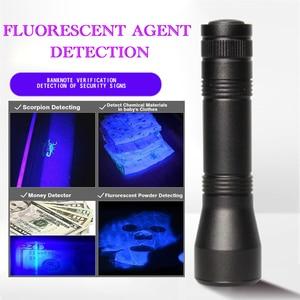 Image 5 - УФ фонарь светодиодный с 5 режимами, 9000 лм, 18650 нм