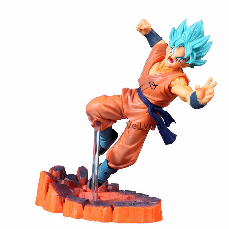 De Fabricantes De Fósforos De Dragon Ball Z Super Saiyan Goku Freeza Goku Frieza Freezer Dragonball Figura Collectible Toy Modelo de Ação PVC