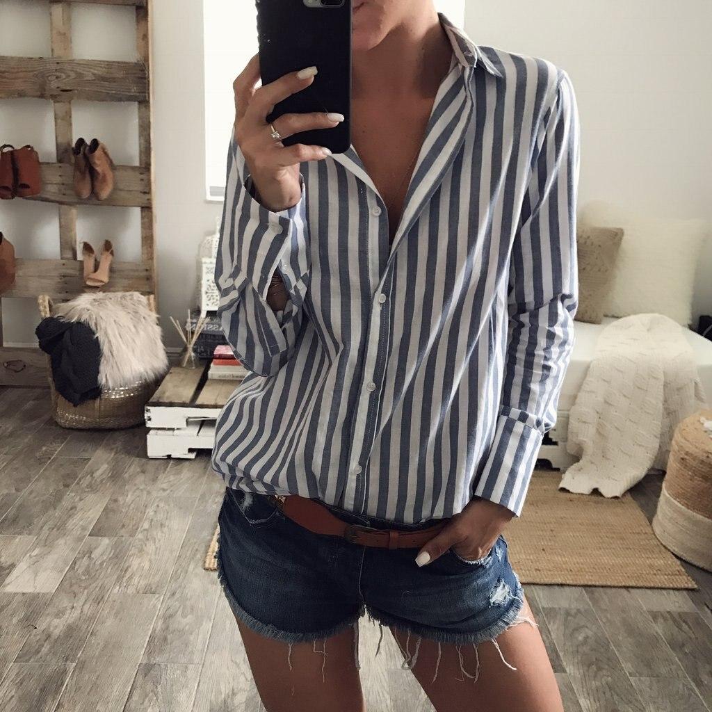 women shirts harajuku blouse plus size tops woman tops 2020 womens clothing ladies fashion casual button o-neck korean