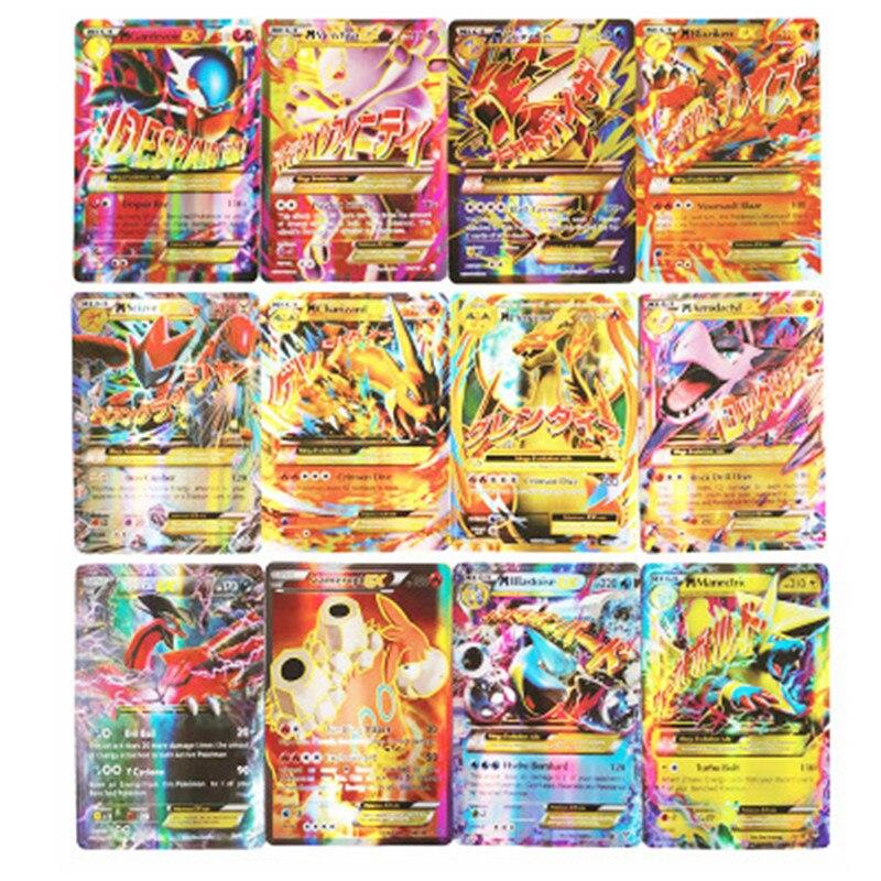 TAKARA TOMY New 100 GX Flash Cards B Pokemon EX Card Cards Pokémon Flash Cards Pokemon Flash Cards High-quality Collection Toys