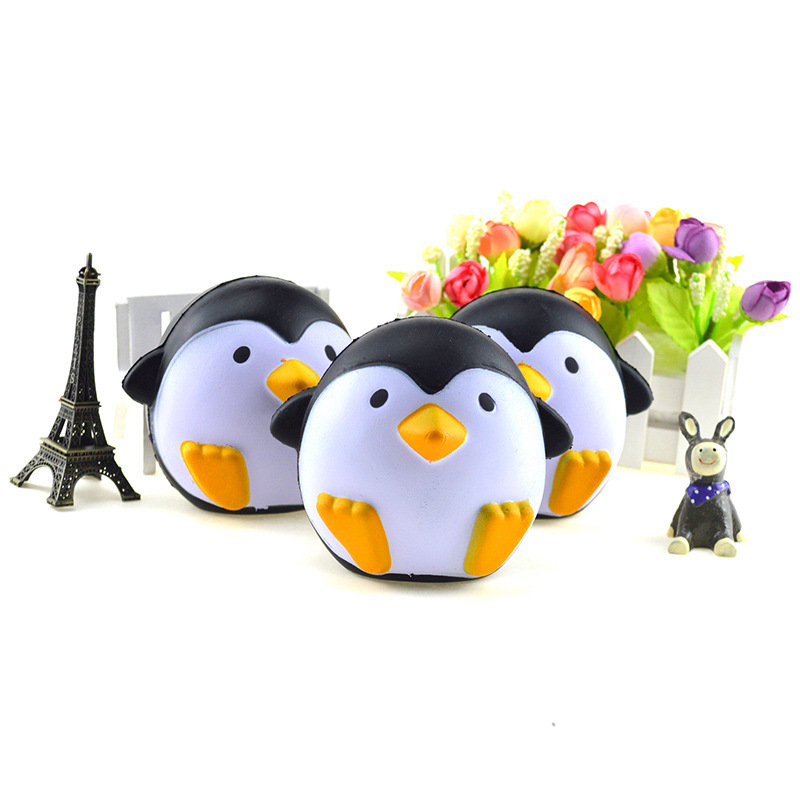 Squishy Slow Rising Springback Pu Simulation Antarctic Penguin Strange Cartoon Doll Kawaii Squish Gadget