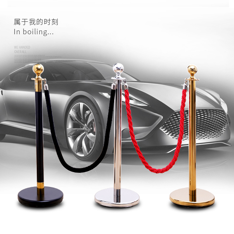 GALO High Quality 1.5m Long Twisted Lining Barrier Rope, Flannel Sling For Welcoming Queuing Columns, Pole Fences, Stands