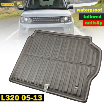 Tailored Cargo Boot Liner Trunk Floor Mat Tray Carpet For Range Rover Sport L320 2005 2006 2007 2008 2009 2010 2011 2012 2013 - discount item  45% OFF Interior Accessories