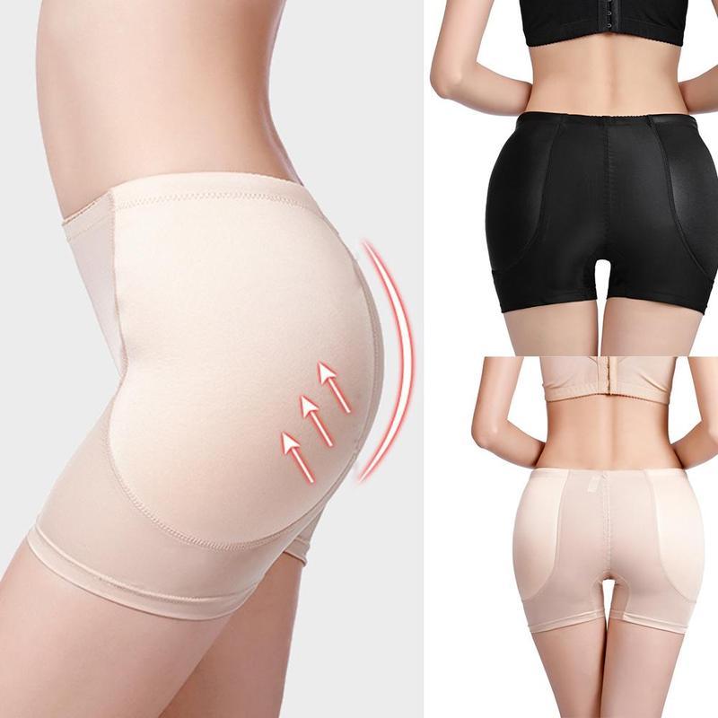 1pc Women's Bottom Beauty Buttocks Beautiful Hip Pants Body Shaping Pants Fixed Sponge Fake Butt Pants Underwear Panties