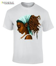 RASTA GIRL MENS COTTON CREW NECK T-SHIRT/CM Men Brand Clothihng Top Quality Fashion Mens T Shirt 100%Cotton 2019 New T-Shirt