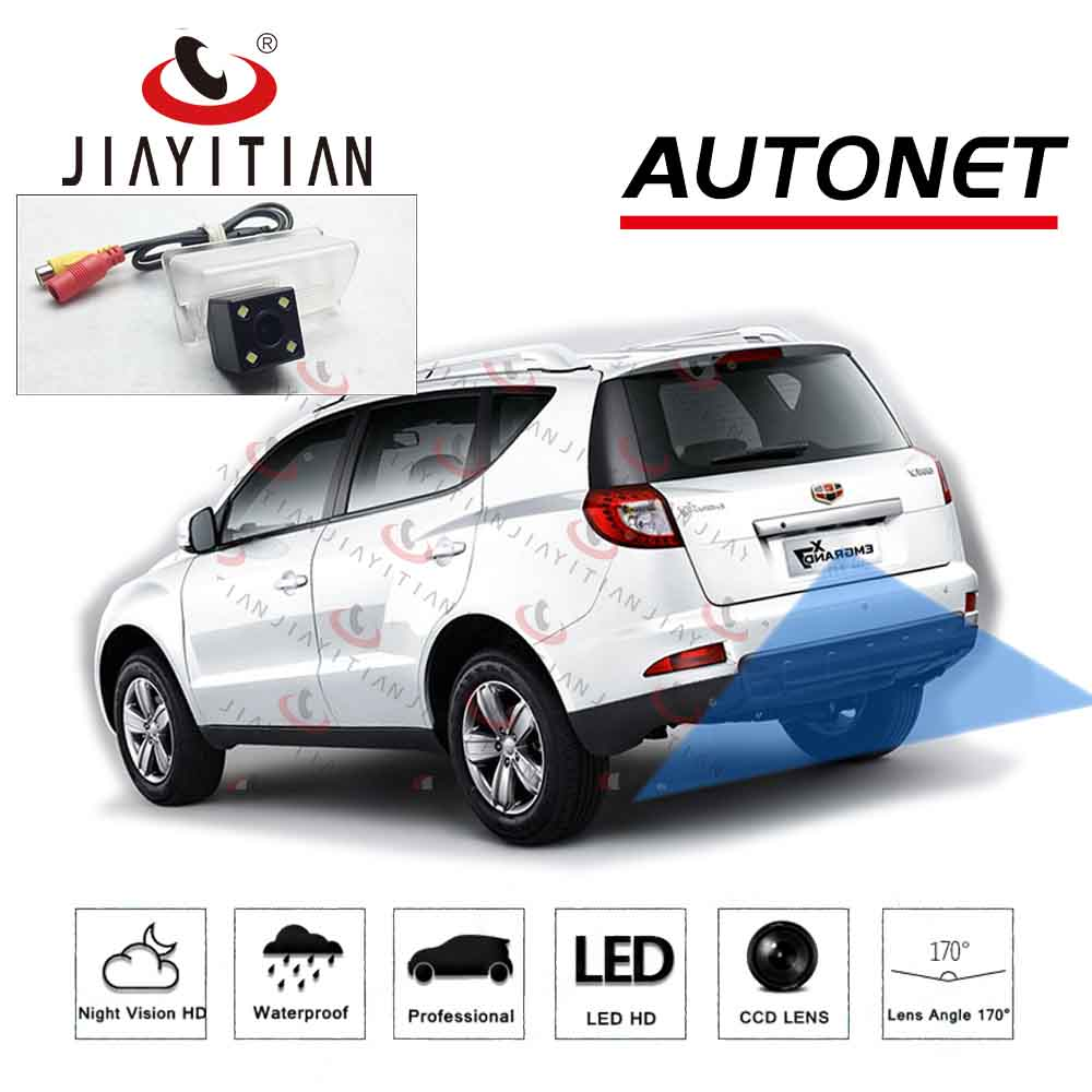JiaYiTian Rear View Camera For Geely GX7 Emgrand X7 SUV 2012 2013 2014 2015 EC7 EC718  CCD Night Vision Reverse Camera Backup