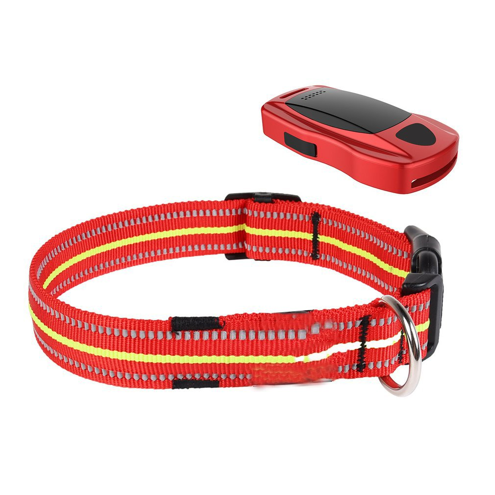 Q1 Universal Pets' Tracker Dog Cat Collar Set WIFI Controlled LBS Callback Function USB Charging Trackers Car Design