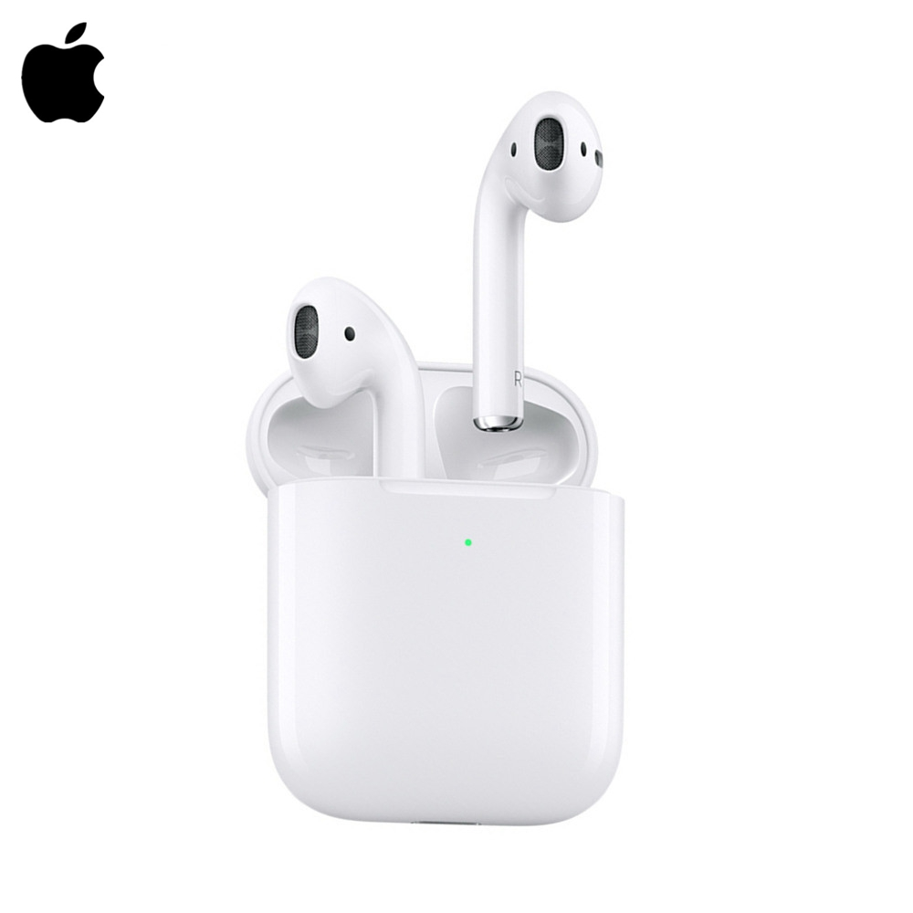 Apple AirPods 2nd Wireless Headset With Charging Case Air Pod Earphone Original Bluetooth Noise Reduction In-Ear