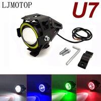Für Suzuki VZ800 DL1000 GSX1100F Katana 250 500 600 Katana 125W Motorrad Scheinwerfer 3000LM Abblendlicht-U7 LED scheinwerfer