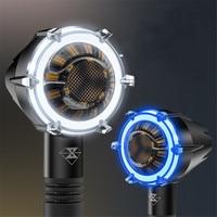 Luces de giro motocicleta SPIRIT BEAST  accesorios decorativos LED resistentes al agua  luces de señal  motores  luces de circulación diurna