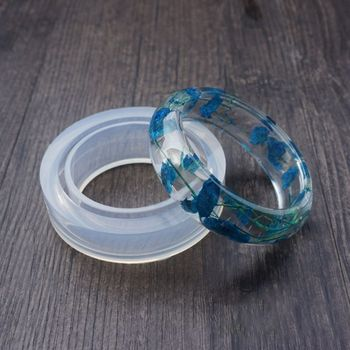 Armband Casting Mould Runde Förmigen Silikon Form für DIY Epoxy Harz Armreif