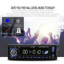 Car Receiver Stereo Remote Control Autoradio Car Radio 12V Bluetooth Car Stereo In-dash Radio(China)