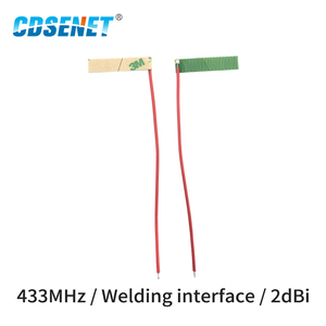 Image 2 - 10pc/lot 433MHz FPC Wifi Antenna Welding Interface 2dBi TX433 FPC 2906 Omnidirectional fm Antenna