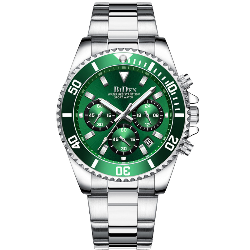 BIDEN 2020 Watch Men Top Brand Luxury Military Army Sports Casual Waterproof Mens Watches Quartz Stainless Steel Wristwatch