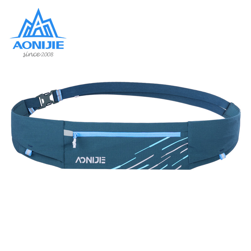 Aonijie Sports Waist Bag Running Belt Bag Lightweight Hydration Fanny Pack W8105 for Outdoor Trail Jogging Running Fitness