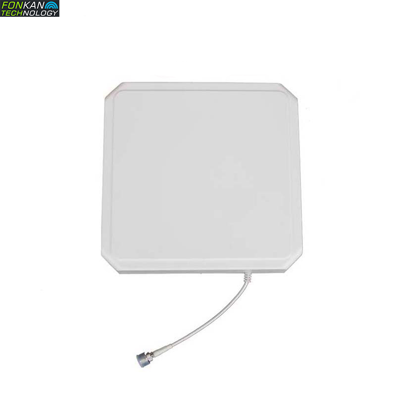 IP67 Waterproof ABS  External UHF RFID 9dBi Circular Type With 9dBi Gain Polarization Passive Antenna Work For Reader