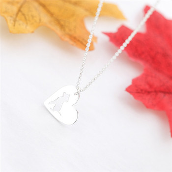 Dog Heart Necklace  4