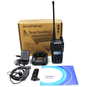 Image 5 - BaoFeng UV 82 8W Two Way Radio Ham Radio  Walkie Talkie Tri Power Dual band 136 174MHz 400 520MHz Handheld FM Transceiver