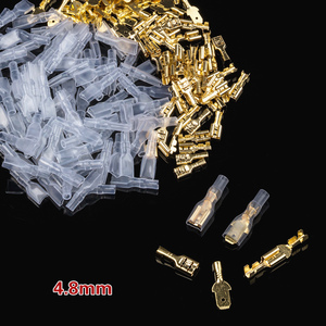 Image 5 - 900 개/대 절연 전기 와이어 크림프 터미널 2.8/4.8/6.3mm 스페이드 커넥터 구색 키트 상자