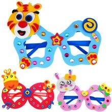 New DIY 3D EVA Foam Craft Sticker Handmade Sunglasses Learning Kids Kindergarten Educative Games New Toys 2019