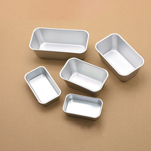 Aluminum Alloy Toast Boxes Bakeware Loaf Pan Rectangle Bread Baking Dish Cheese Box Non-Stick Large&Small Bread Cake Mold