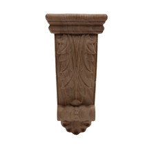 Wood Carving Stigma Wood Decal Wood Applique Onlay Exquisite Carved Exquisite Antique Retro Crown Long Large Furniture Legs NEW
