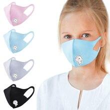 Enfants garçons fille coton lavable réglable filtre dessin animé masque filtre sûr respirant masques de protection # T2