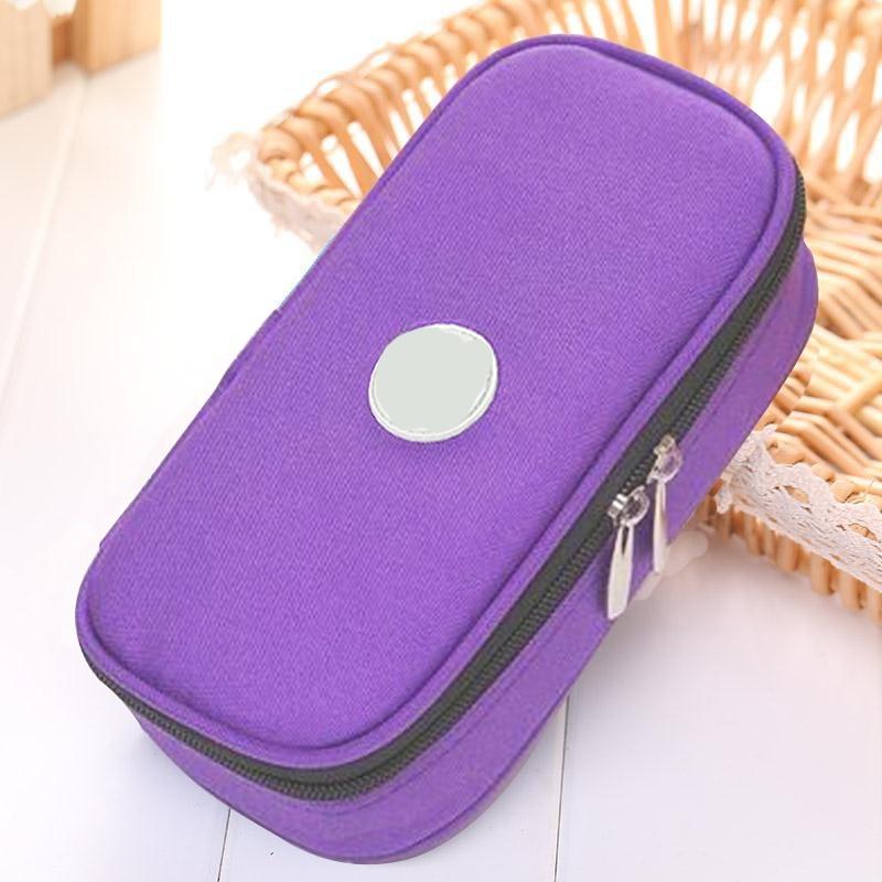 Туристический Чехол-холодильник для инсулина, изолированный органайзер для лечения диабетиков, переносная охлаждающая сумка для