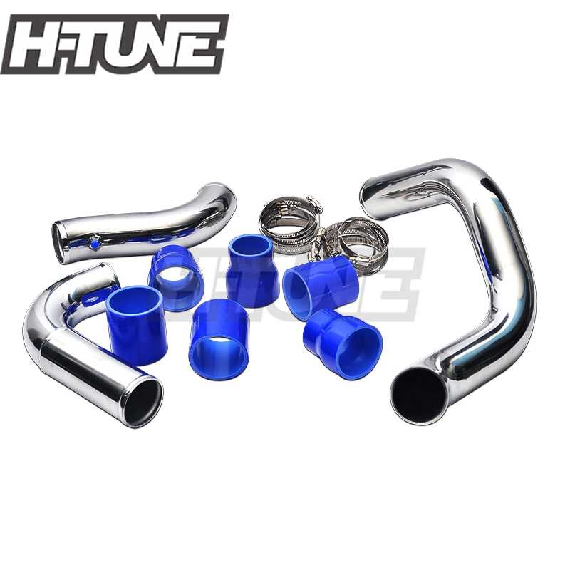 H-TUNE Turbo Diesel Direct Bolt Intercooler Piping Kits Voor Navara D40 2.5L YD25DDTi