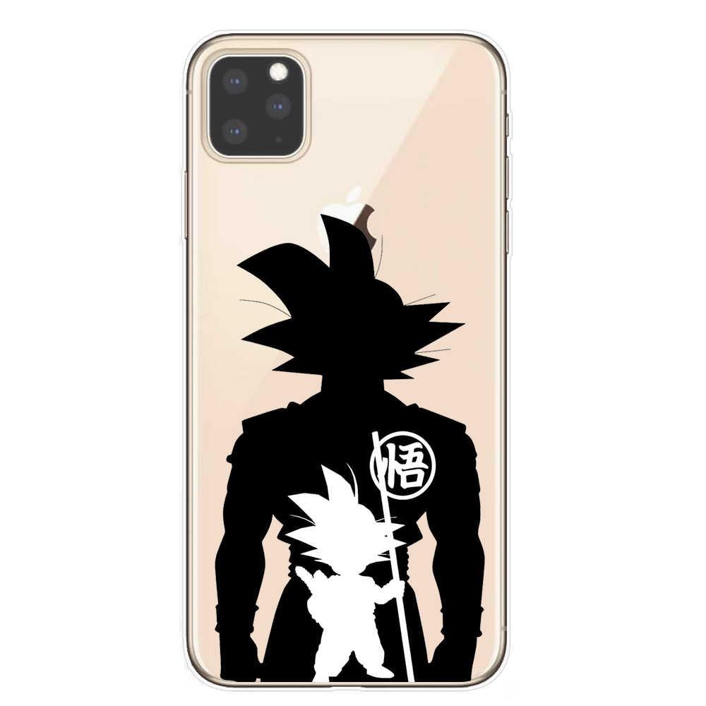 Dragon Ball Z DBZ Goku Super DBS Moda Coque Tampa Da Caixa de Telefone Para O iPhone Da Apple 11 Pro X XR XS max 8 7 6 6S Plus 5S SE Fundas
