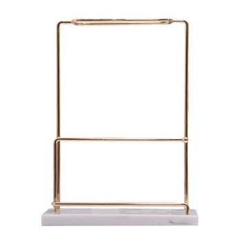 Marbling Resin Retro Nordic Jewelry Organizer Rack Display Earrings Stand Vintage Earring Holder, Accessory Storage Box and Disp