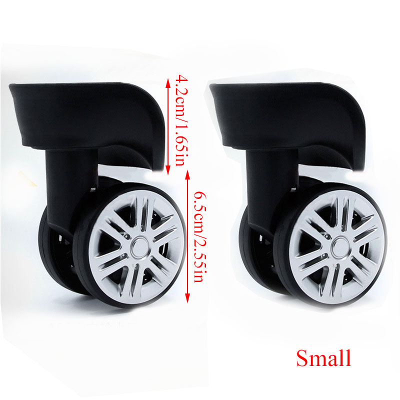 A08 Replacement Luggage Wheel Repair Suitcase Bag Parts Spinner Wheels Casters For Travel Customs Box